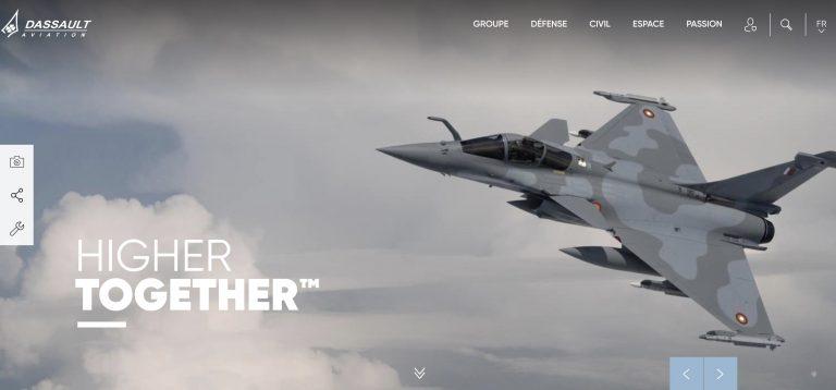 illustration site Dassault