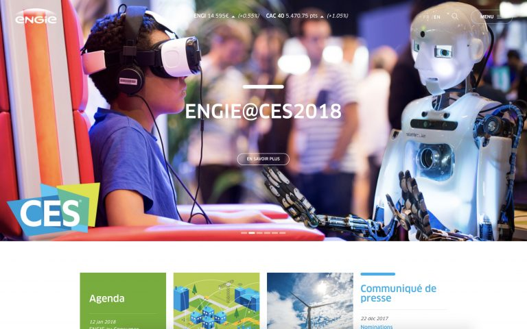 illustration site Engie