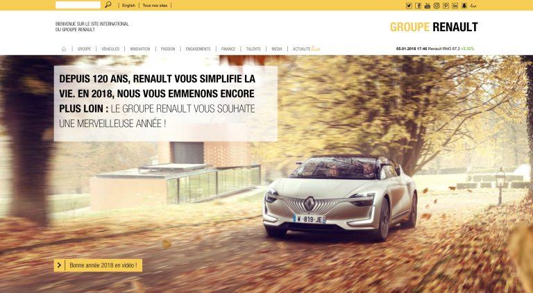 illustration site Renault