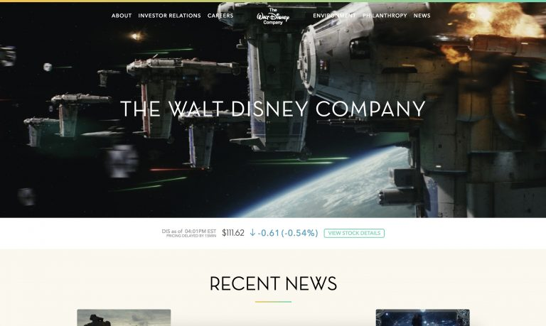 illustration site Disney